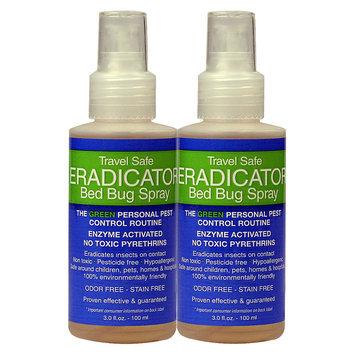 VisionBay, LLC 3 oz. Travel Safe Bed Bug Eradicator Spray Natural Safe Solution (2-Pack)