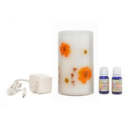 Wwhp 310010002 CandleTek Aroma Therapy Flameless Candle Lavender