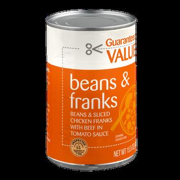 Guaranteed Value Beans & Franks