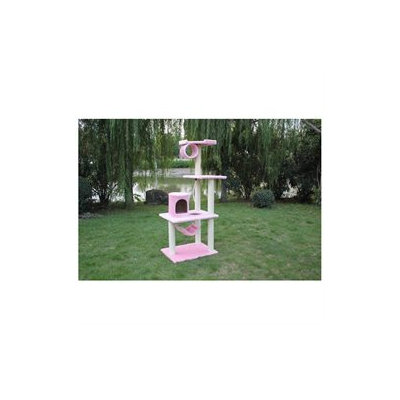 BestPet Pink 62 Cat Tree Condo Furniture Scratch Post Pet House P