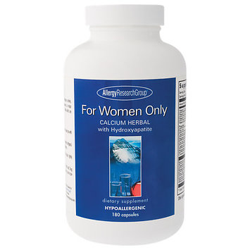 Allergy Research nutricology Allergy Research Group For Women Only 180 caps
