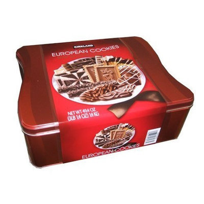 Kirkland Signature European Cookies with Belgian Chocolate, 49.4 Ounce