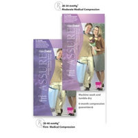 Mediven Assure, Closed Toe, 20-30 mmHg, Panty-Maternity Compression Stocking, Large, Beige