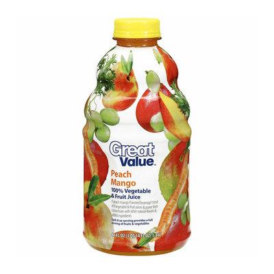 Great Value Peach Mango Juice