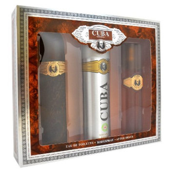 Men's Cuba Gold by Cuba 3.3oz Eau de Toilette Spray, 6.7oz Deodorant