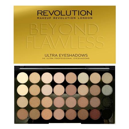 Makeup Revolution Ultra 32 Shade Eyeshadow Palette Beyond Flawless