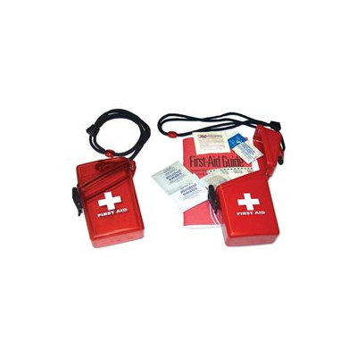 Witz 148005 First Aid Kit - Red Translucent