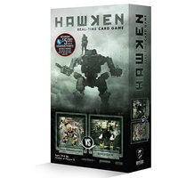 Cryptozoic Hawken Real-Time Card Game Sharpshooter vs. Bruiser