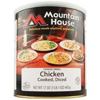 Mountain House Diced Chicken Cooked - No. 10 can