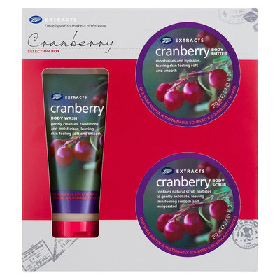 Boots Extracts Selection Box, Cranberry, 1 ea