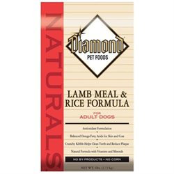 Diamond Naturals Lamb and Rice Dry Dog Food 40lb