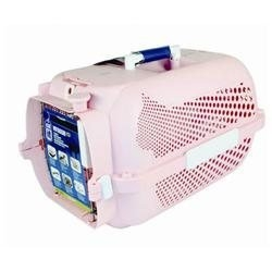 Hagen Catit Voyageur Model 100 Small Cat Carrier Color: Pink