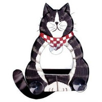 Bobbo Window Feeder Cat Body Black/White