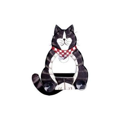 Bobbo Window Feeder Cat Body Black/White