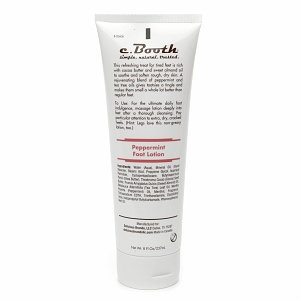 c. Booth Peppermint Foot Lotion