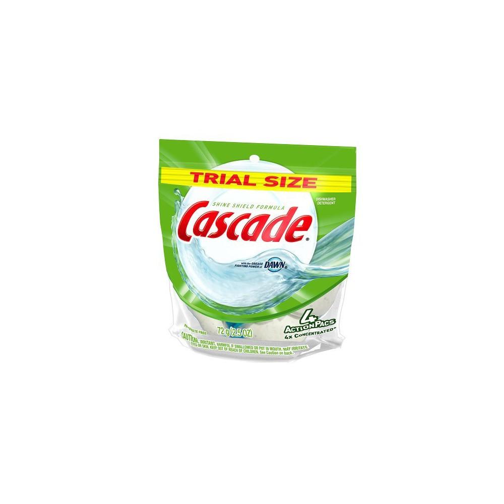 Cascade Action Pac Dishwashing Detergent with Dawn 4 ct