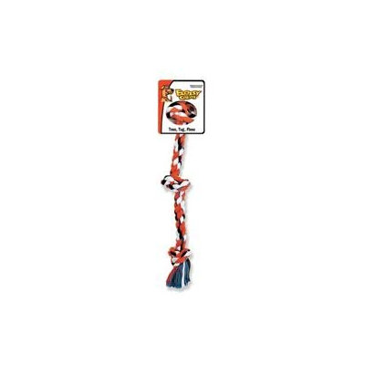 Mammoth Pet DMH20016F Cotton 3 Knot Rope Tug 36 in. Xl