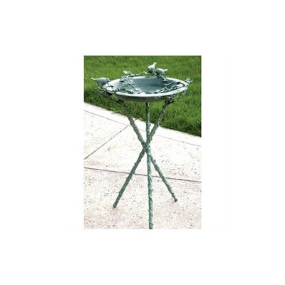 SPI Home 30121 Love Birds & Branch Birdbath