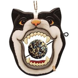 Bobbo Inc BOBBO3870227 Cat Open Mouth with Food Skewer Feed Ball