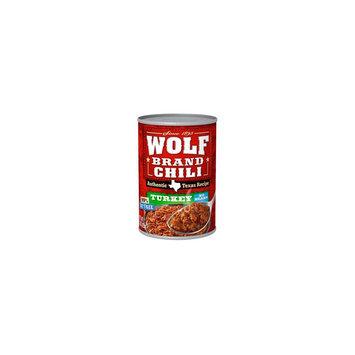 Wolf Brand Authentic Texas Recipe Turkey No-Bean Chili 15 oz
