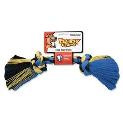 Mammoth Pet Products Cotton Blend Rope Bone Dog Toy in Multi