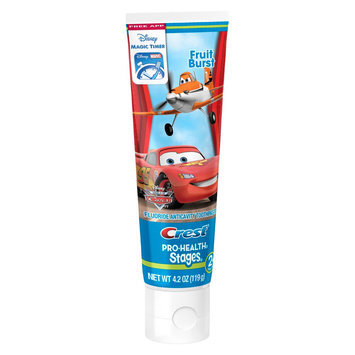 Oral-b Crest Pro-Health Stages Kids Toothpaste featuring Disney Pixar Monsters, Inc. with Disney MagicTimer App