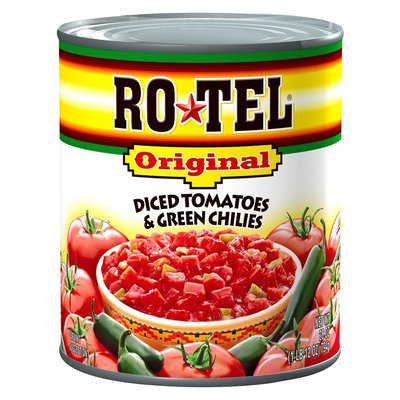 Hunt's Ro*Tel Original Diced Tomatoes and Green Chilies 28 oz