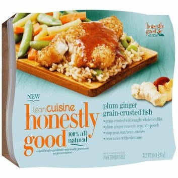 Lean Cuisine Honestly Good Plum Ginger Grain-Crusted Fish