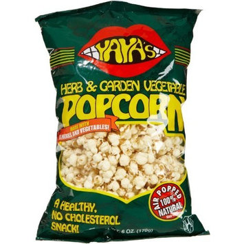 YaYa's Pocorn, Herb & Garden Vegetable, 6-Ounce Bags (Pack of 12)