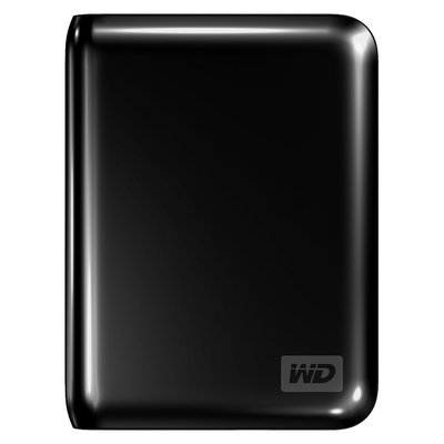 Western Digital My Passport Essential SE 1TB Portable Hard Drive (Black)