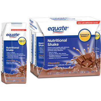 Equate Chocolate Nutritional Shake