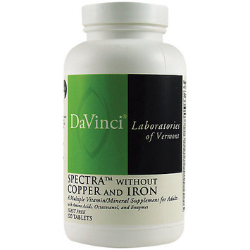 DaVinci Laboratories Spectra Multi without Copper and Iron 240 Tablets