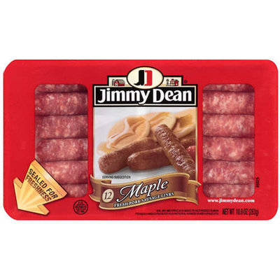 Jimmy Dean: Fresh Pork/Maple Sausage Links, 10 Oz