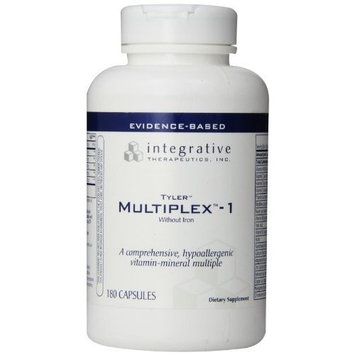 Integrative Therapeutic's Integrative Therapeutics Multiplex-1, Without Iron, 180 Capsules