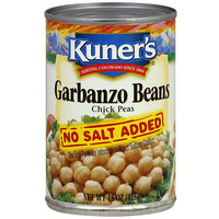 Kuner's No Salt Added Garbanzo Beans