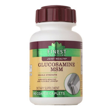 Finest Glucosamine MSM Double Strength Caplets