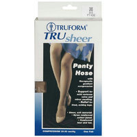 Truform Women's TruSheer Pantyhose (Firm) 20-30mm