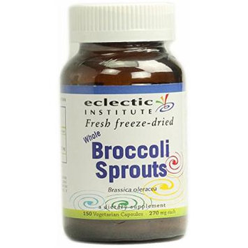 Broccoli Sprouts Freeze-Dried Eclectic Institute 150 VCaps