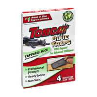 Tomcat Glue Traps Captures Mice - 4 CT