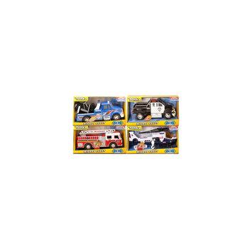 Tonka Mighty Fleet Rescue Vehicles