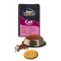 Nutri-source Chicken and Rice Cat/Kitten Food Size: 6.6-lb bag