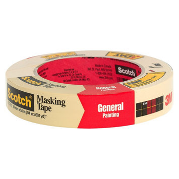 3M Scotch General Painting Masking Tape 1