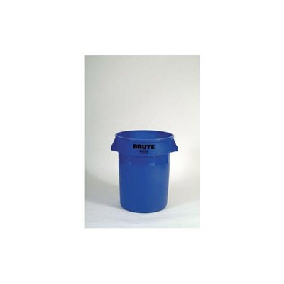 Box Partners RUB122C 32 Gallon Brute Container Yellow