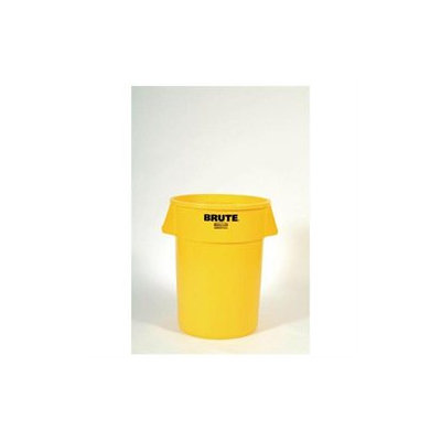 Box Partners RUB125C 44 Gallon Brute Container Yellow