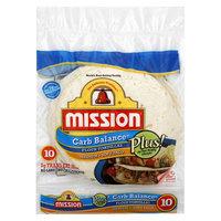 Mission Carb Balance Flour Tortillas 10 ct