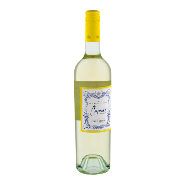 Cupcake Vineyards Pinot Grigio 2013