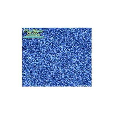 Pure Water Pebbles Premium Fresh Water Aquarium Substrate - 50 lbs - Color: Blue Lagoon (Set of 2)