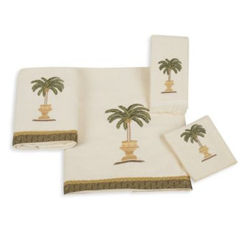 Avanti Date Palm Bath Towels in Ivory