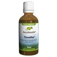 Native Remedies TRX001 TinnaRex for Relieving Tinnitus - 50ml