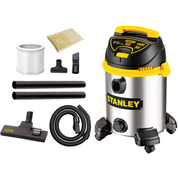 Stanley 8 Gallon Wet/Dry Vacuum - Silver